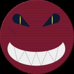 sinnister sadistic face