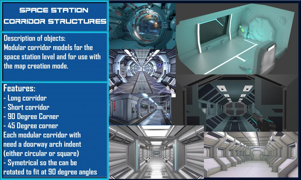 Donestation corridor structures