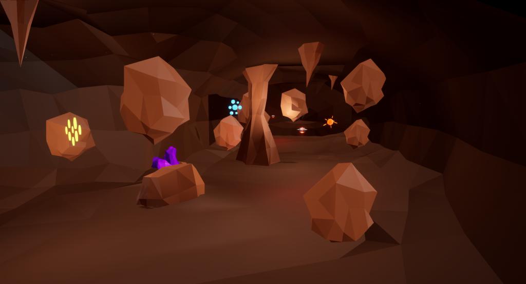cave power ups shot